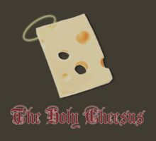 The Holy Cheesus by robotplunger