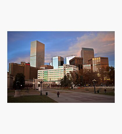 Denver Afternoon Photographic Print