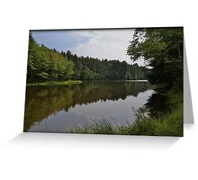 Pickerel Pond Storm Front Greeting Card