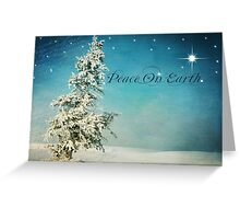 SomeWhere -  Peace on Earth Greeting Card