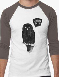 Shadow Am I? Men's Baseball ¾ T-Shirt