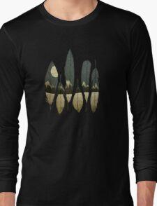 The Birds of Winter Long Sleeve T-Shirt