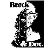 Brock and Doc Photographic Print