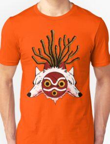 Wolf Princess (Color) Unisex T-Shirt