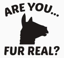 Are You Fur Real? by AmazingVision