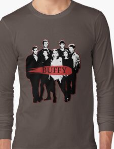 BTVS CAST (S3): The Scoobies! Long Sleeve T-Shirt