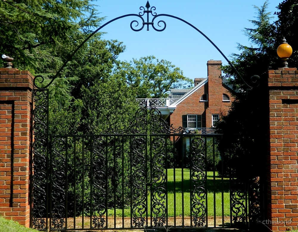 Wrought Iron Entrance   ^ by ctheworld