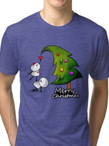 Merry Cristmas Tri-blend T-Shirt