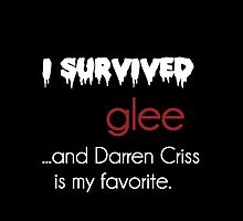 I survived Glee (Darren Criss) by xmisscriss
