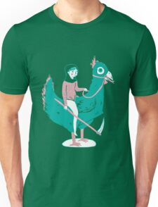 Lady Death upon her Noble Steed Unisex T-Shirt