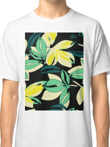 Leaf and Flowers Classic T-Shirt