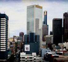 melbourne panorama 1 by SimPhotography