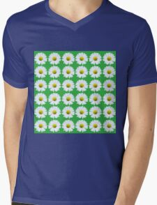 DAISY DAISY Mens V-Neck T-Shirt
