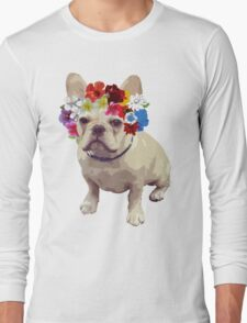 I Love Frenchies Long Sleeve T-Shirt
