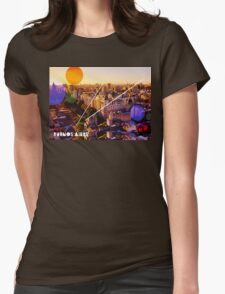 Buenos Aires Cityscape Womens Fitted T-Shirt