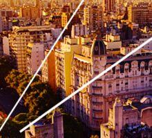 Buenos Aires Cityscape Sticker