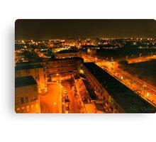 Big City Lights Canvas Print