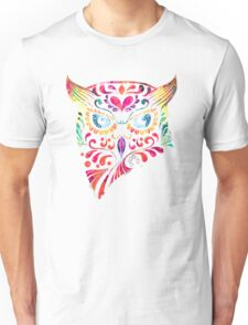 COLORFUL CANDY OWL Unisex T-Shirt