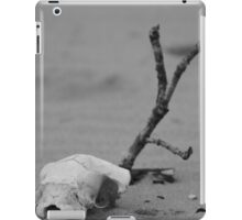 Freshwater West - Lonely Skull. (photo as found) iPad Case/Skin