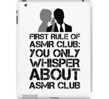 ASMR Club iPad Case/Skin