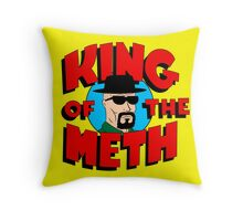 King of the Meth Throw Pillow