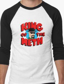 King of the Meth Men's Baseball ¾ T-Shirt