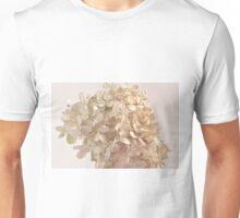 Creamy Hydrangea Blossoms Unisex T-Shirt