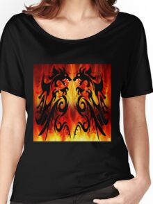 DRAGONS FIGHTING Women's Relaxed Fit T-Shirt
