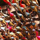 Phalacrocorax carbo birds in Nairobi, Kenya by Atanas NASKO