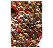 Phalacrocorax carbo bird in Nairobi, Kenya Poster