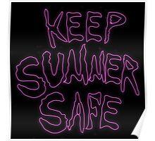 Rick & Morty-KEEP SUMMER SAFE Poster