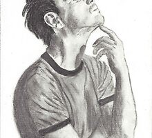 Andrew Scott (Moriarty from BBC Sherlock) by Deelectableart
