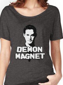 XANDER HARRIS: Demon Magnet Women's Relaxed Fit T-Shirt