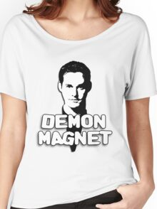 XANDER HARRIS: Demon Magnet Women's Relaxed Fit T-Shirt