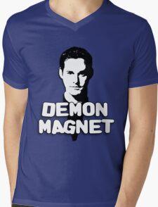 XANDER HARRIS: Demon Magnet Mens V-Neck T-Shirt