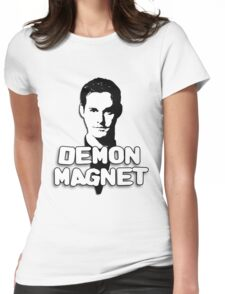 XANDER HARRIS: Demon Magnet Womens Fitted T-Shirt