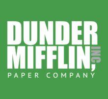 Dunder Mifflin Paper Notebook Kids Tee