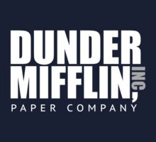 Dunder Mifflin Paper Notebook One Piece - Short Sleeve