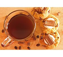 coffee plus cookies Photographic Print
