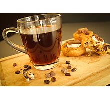 coffee + Cookies Photographic Print