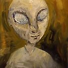 Portrait of an Alien Grey by Nicky Sutton