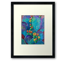 Joyful Prickly Pear Framed Print