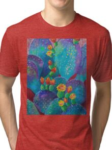 Joyful Prickly Pear Tri-blend T-Shirt