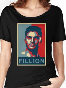 FILLION Women's Relaxed Fit T-Shirt