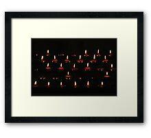 Light of Hope Framed Print