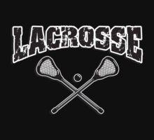 Lacrosse Dark by SportsT-Shirts
