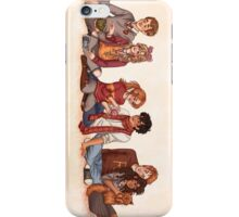 The Golden and the Silver Trio iPhone Case/Skin