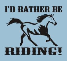 EQUESTRIAN HORSE RIDING Baby Tee