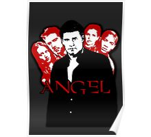 Angel Investigations: Black & Red Poster