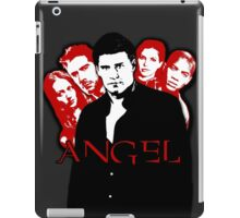 Angel Investigations: Black & Red iPad Case/Skin
